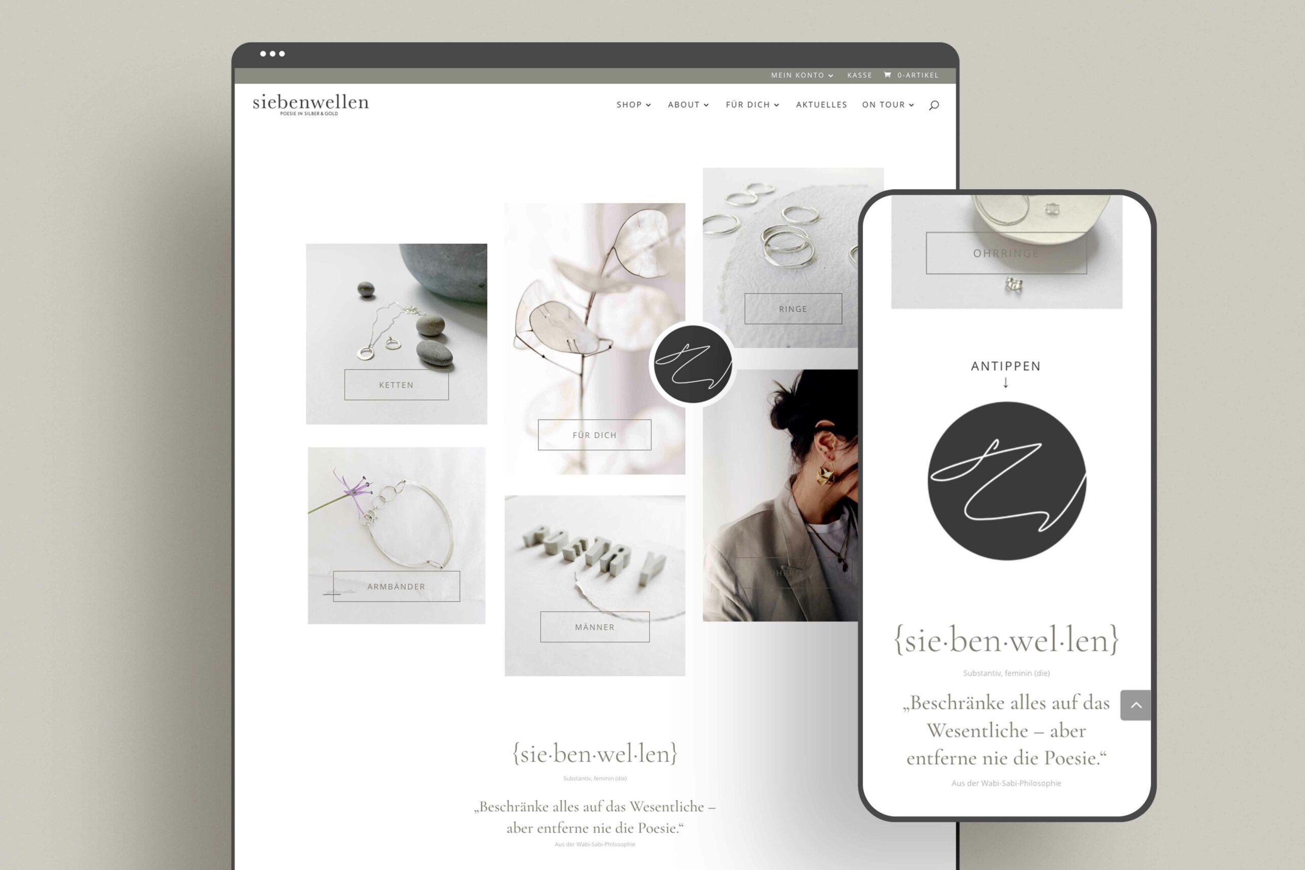 Zena Bala, Designerin, Kunde: Siebenwellen