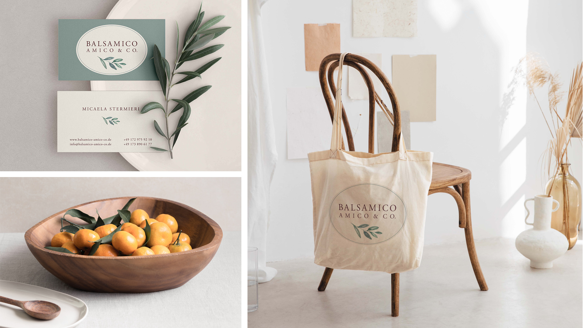 Zena Bala, Designerin, Kunde: Balsamico Amico & Co.
