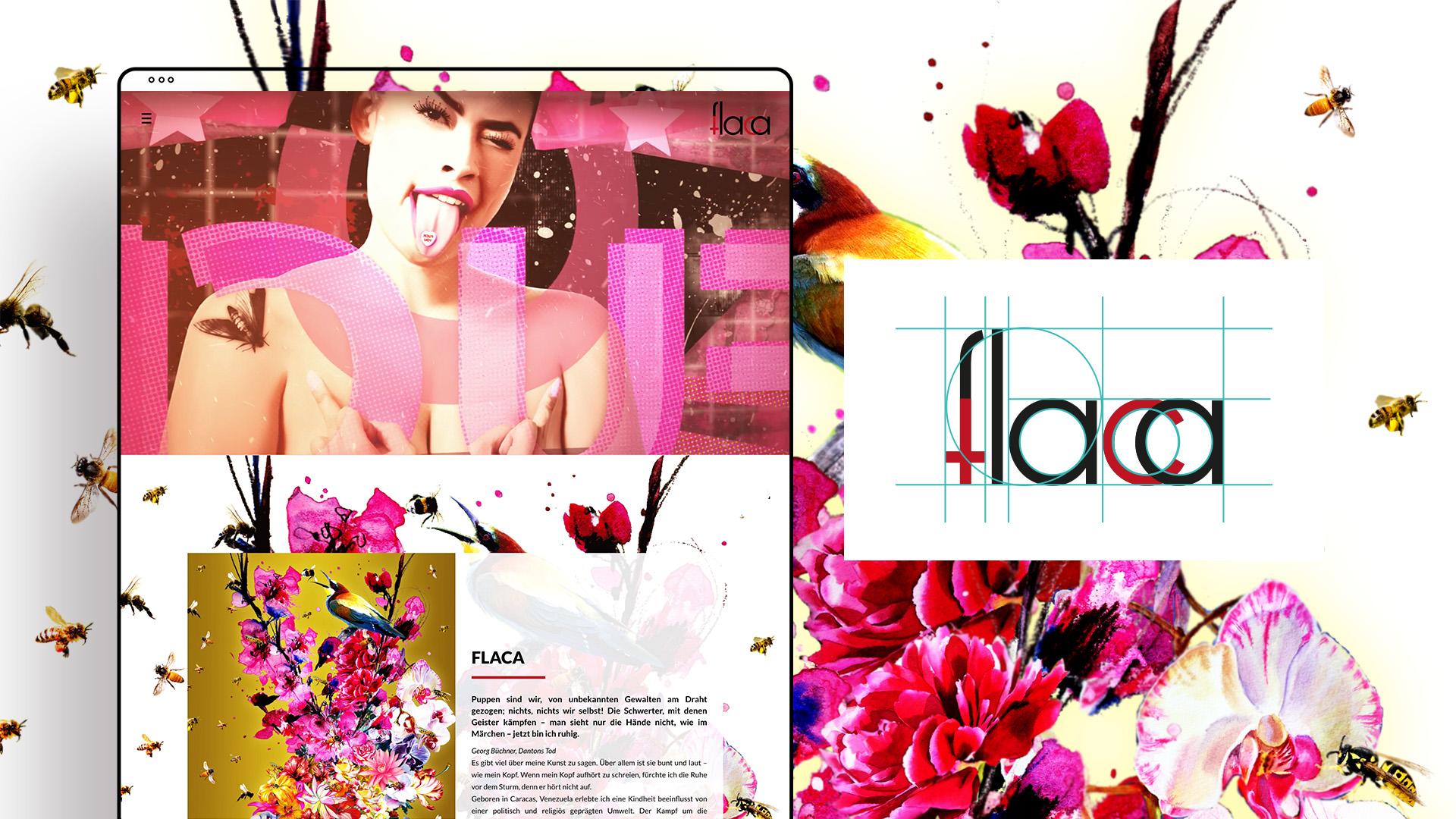 Zena Bala, Designerin, Kunde: Flaca – Künstlerin