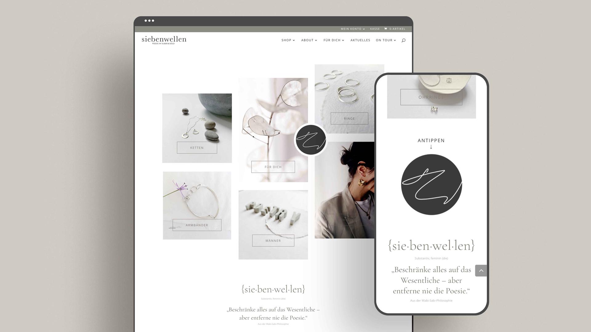Zena Bala, Designerin, Kundin: siebenwellen