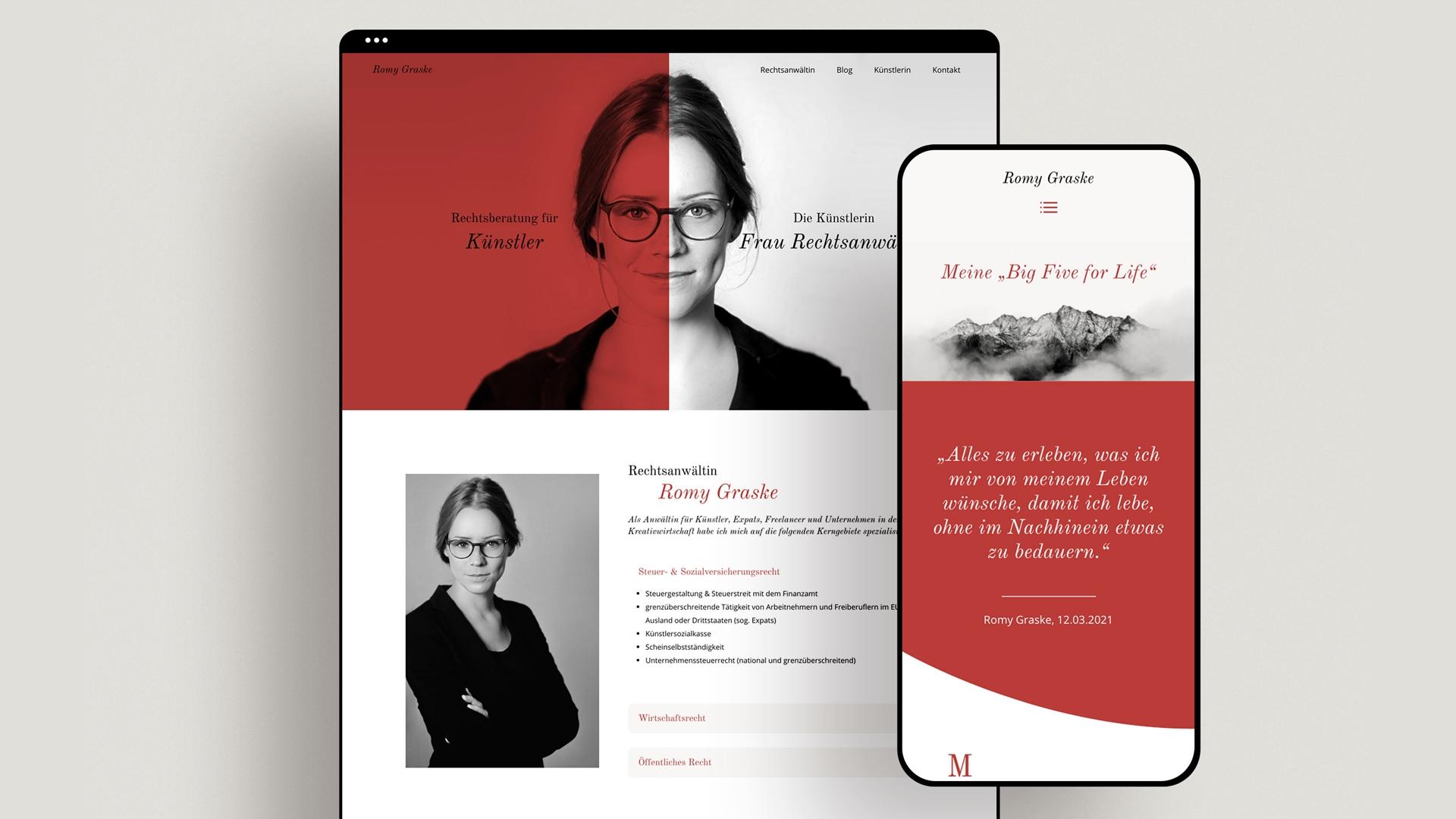 Zena Bala, Designerin, Kundin: Romy Graske – Rechtsanwältin & Künstlerin