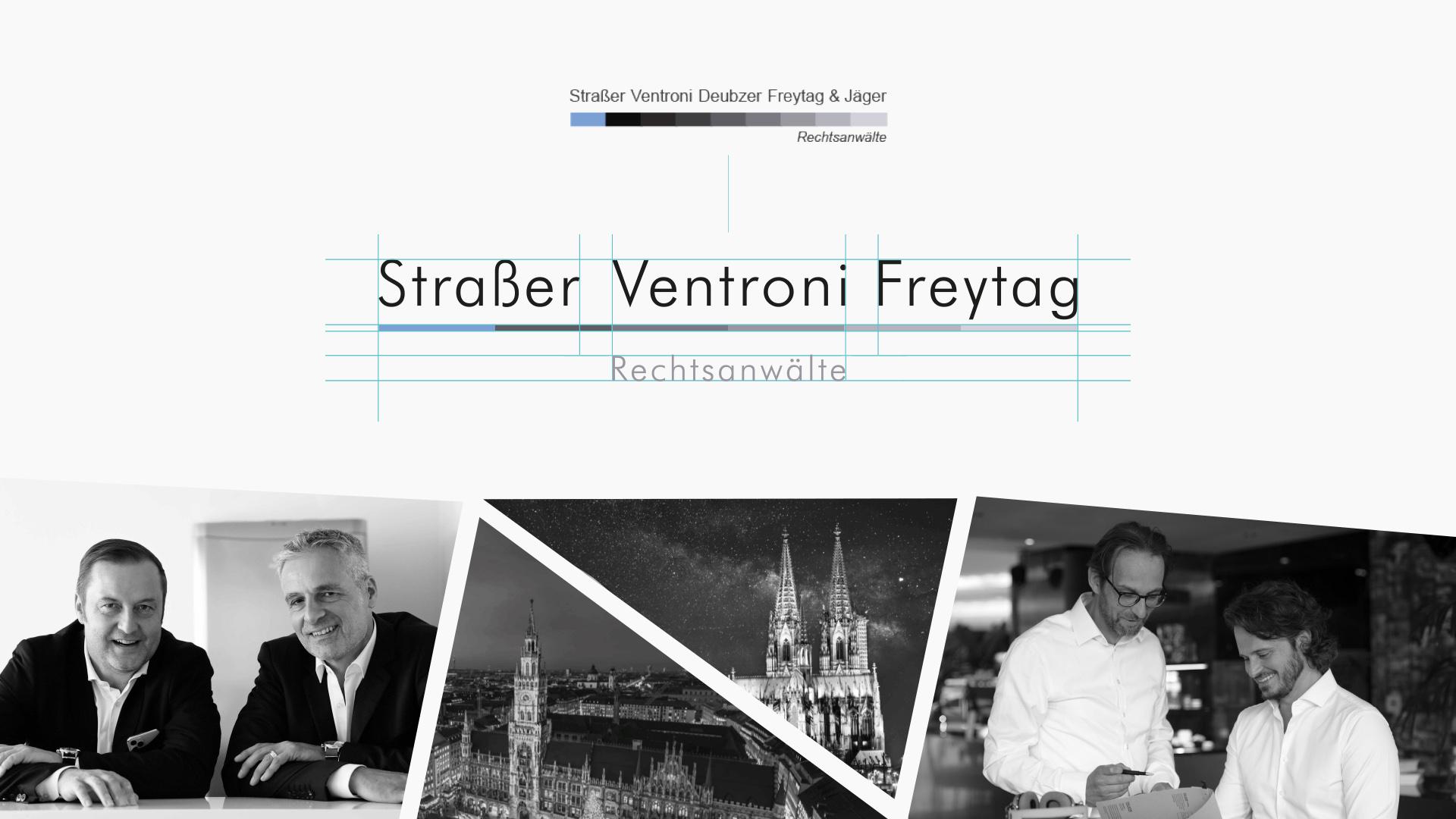 Zena Bala, Designerin, Kunde: Straßer Ventroni Freytag Rechtsanwälte München & Köln